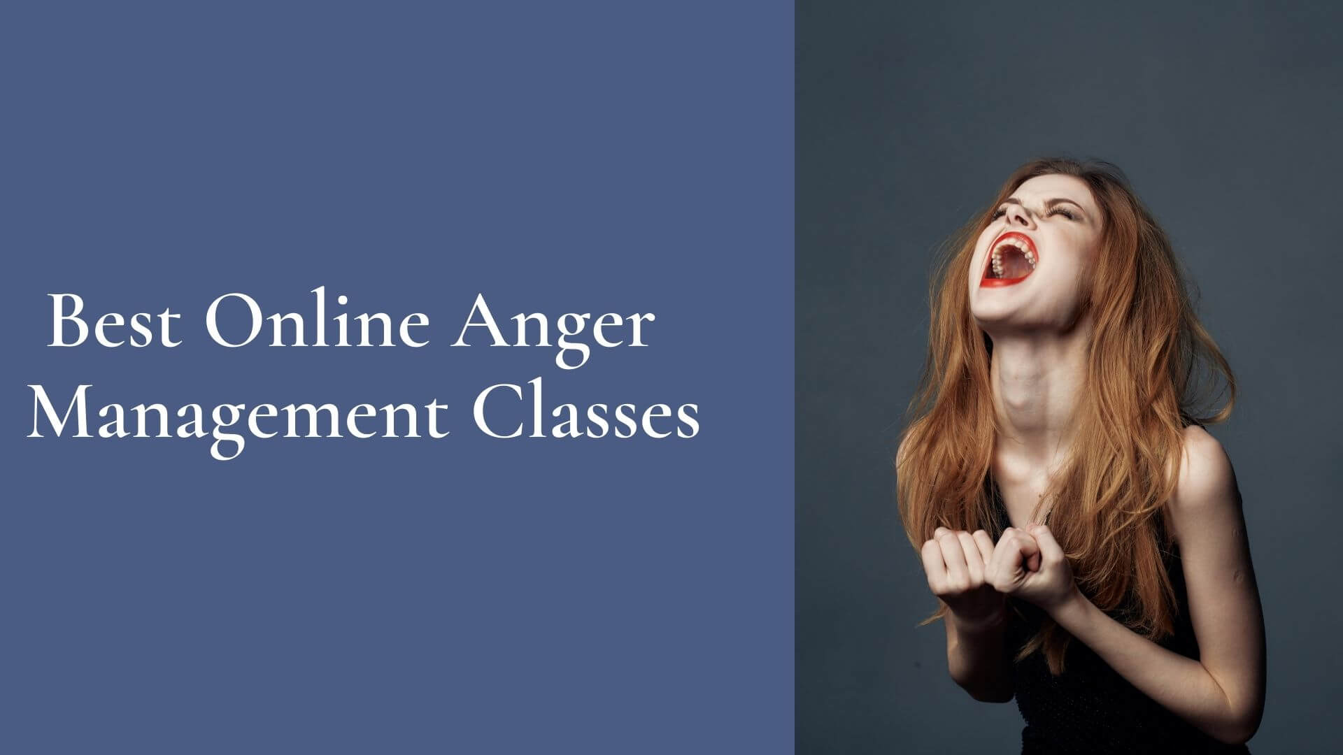 Best Online Anger Management Classes