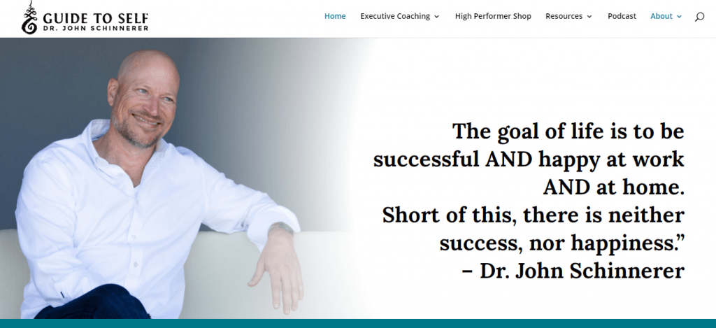 Dr. John Schinnerer anger management course