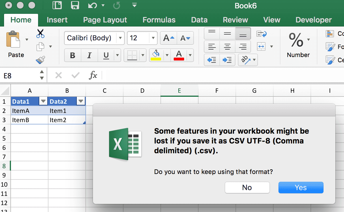 working with csv
