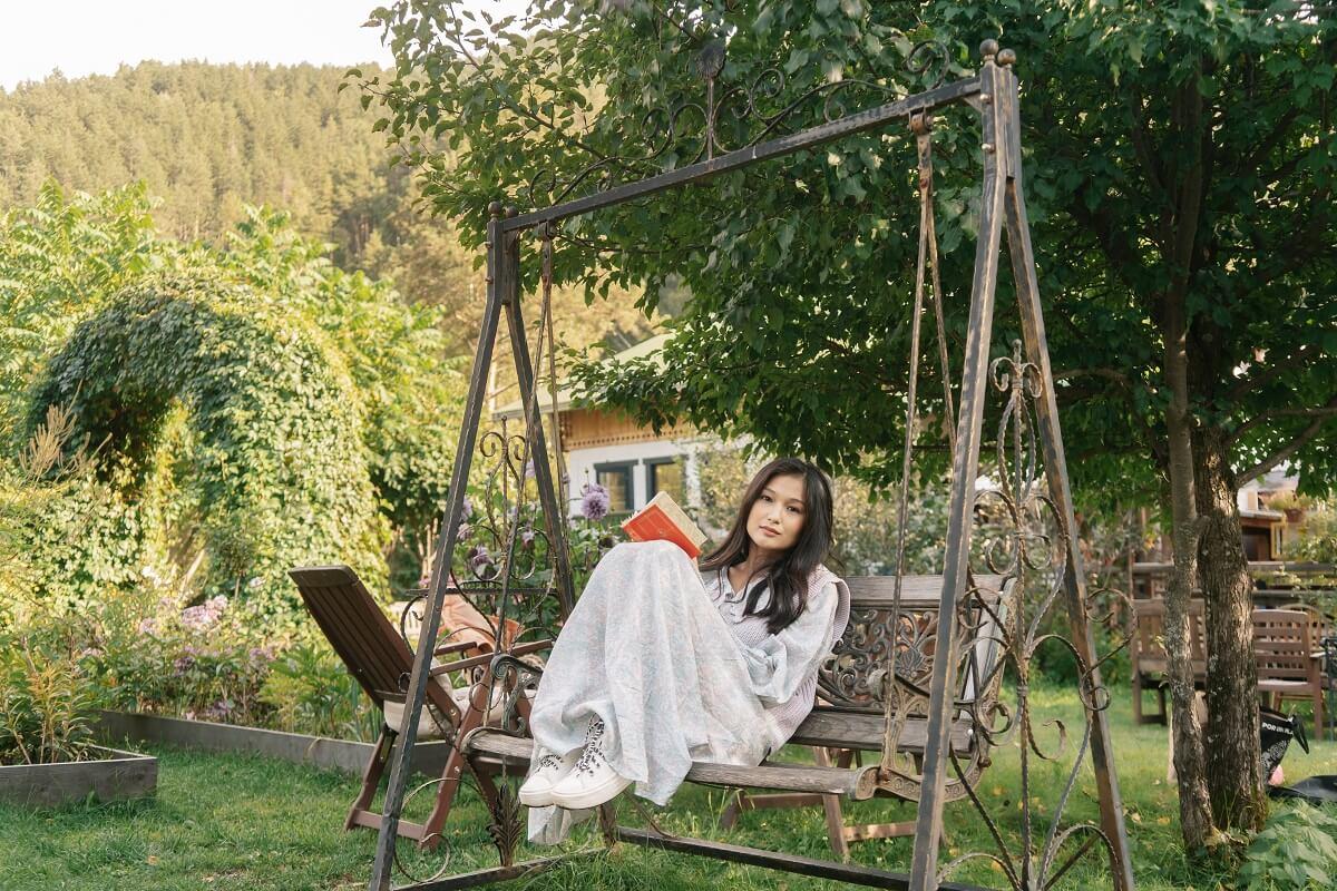 Install a Garden Swing